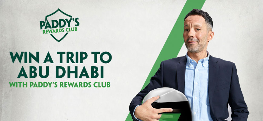 Enjoy a luxury trip to watch the F1 in Abu Dhabi with Paddy Power - Banner