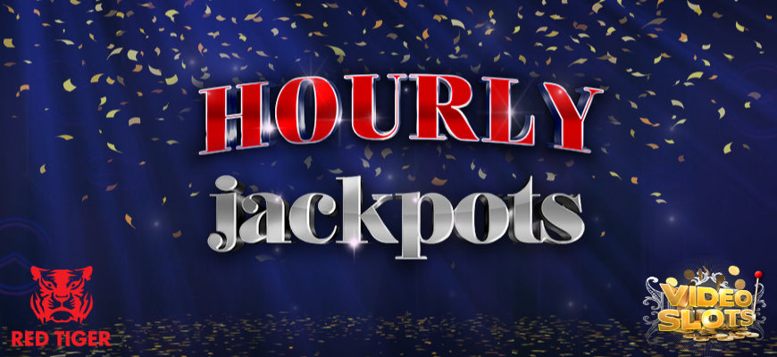 Partnership sees Videoslots add Red Tiger hourly jackpots - Banner