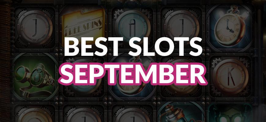 The best online slots released in September 2019 - Banner