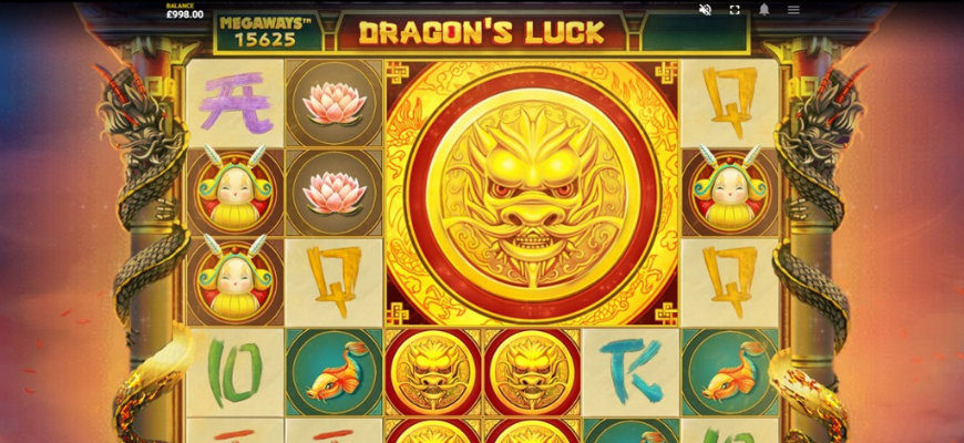 Red Tiger Gaming releases Dragon's Luck Megaways - Banner