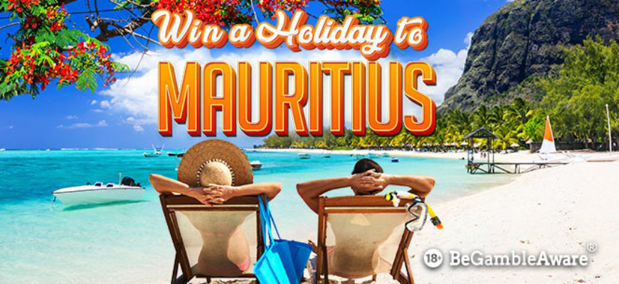 Win a holiday to Mauritius with BGO - Banner