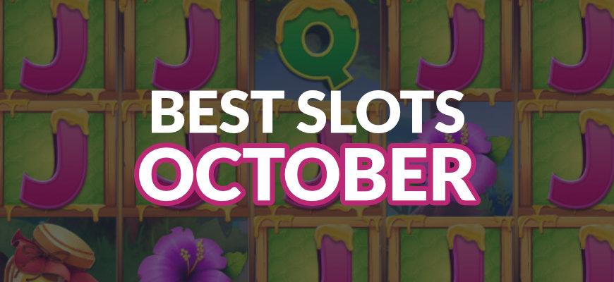 The best online slots released in October 2019 - Banner