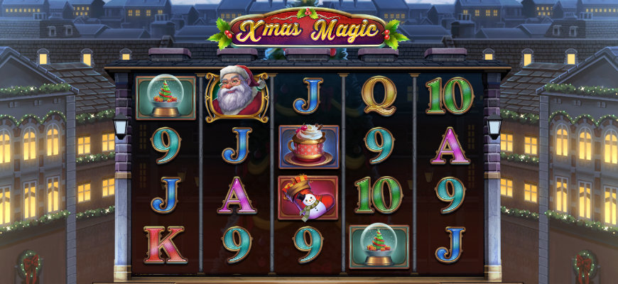 Christmas comes early thanks to Play'n GO's Xmas Magic - Banner