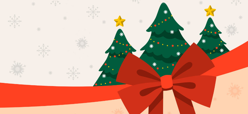 No Wagering's top 5 Christmas themed slot games - Banner