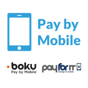 Pay By Mobile Phone - Boku, Payforit Logo
