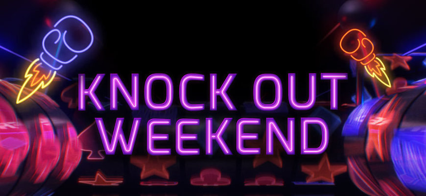 Claim up to 40 free spins during Betfred's Knock Out Weekend - Banner