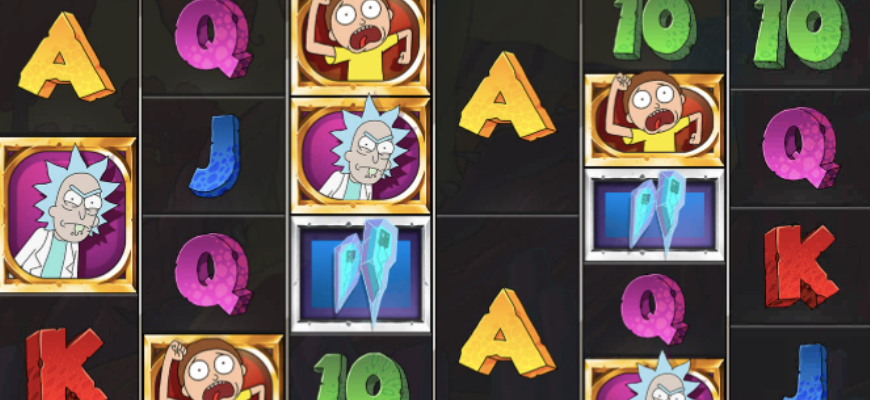 Rick and Morty Megaways slot review - Banner