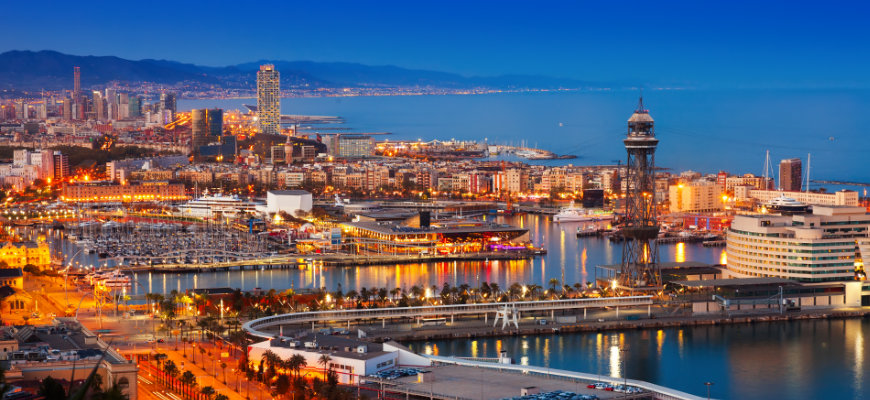 Win a Barcelona getaway for two with no wagering casino PlayOJO - Banner