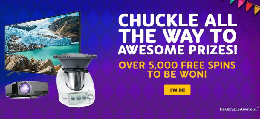 Win tech goodies playing Jokers Jewels at PlayOJO - Banner