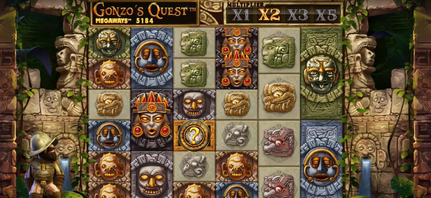 Gonzo's Quest Megaways set to arrive at Voodoo Dreams and NY Spins - Banner