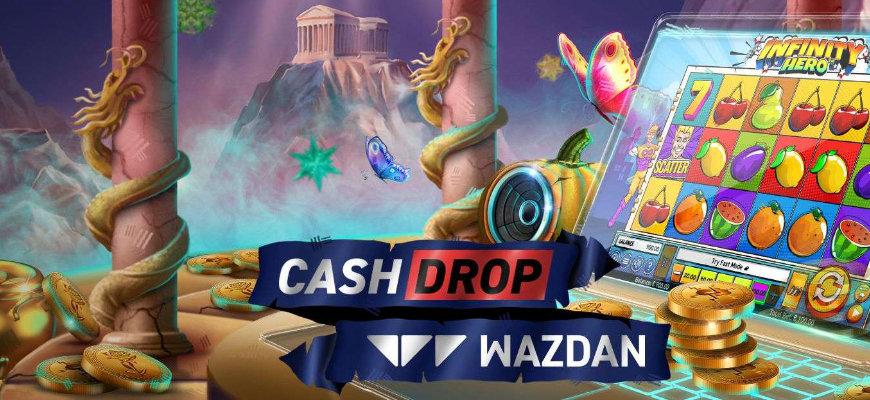 Win a share of £5000 as part of Volt Casino's Wazdan Cash Drop - Banner