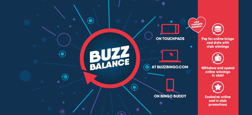 Buzz Bingo launches Buzz Balance to all UK players - Banner