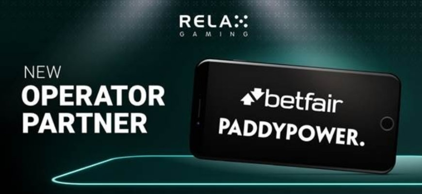 Relax Gaming titles arrive at Paddy Power and Betfair - Banner