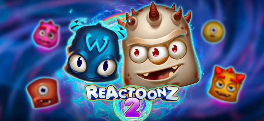Reactoonz 2 online slot review - Banner