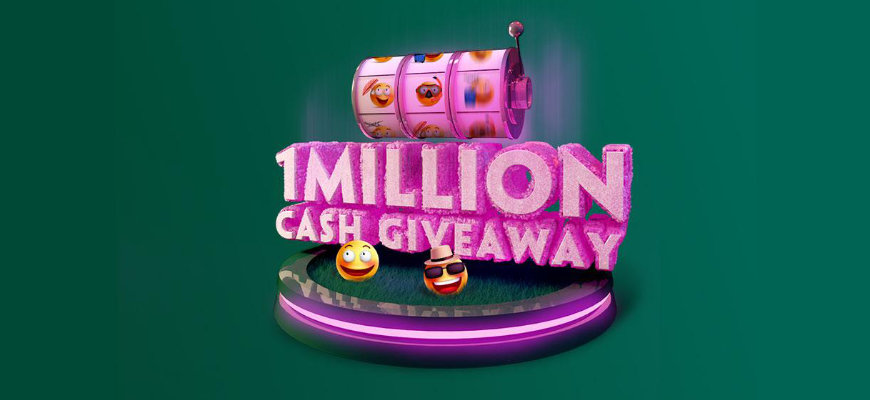 Big cash prizes to be won in Paddy Power's £1 Million Cash Giveaway - Banner