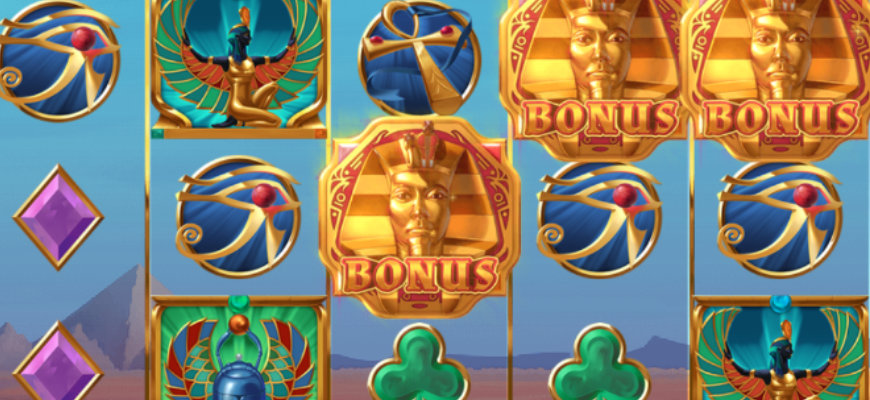 The best Egyptian themed slots you can play with a wager-free bonus - Banner