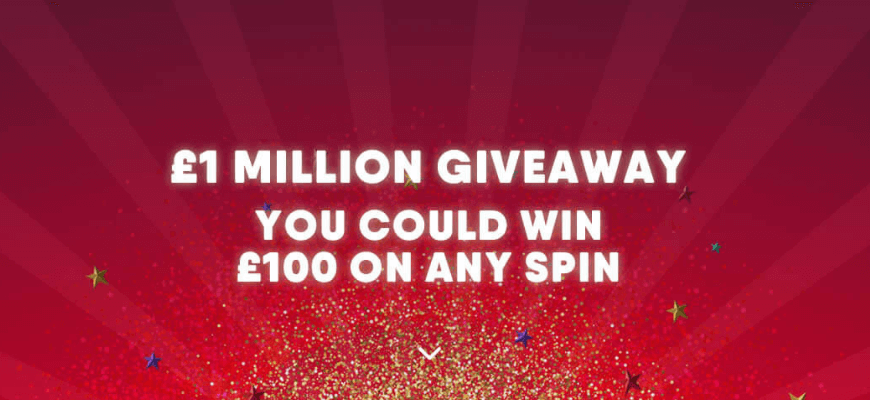 Win wager-free spins and tech in Buzz Bingo's £1million Christmas Giveaway - Banner