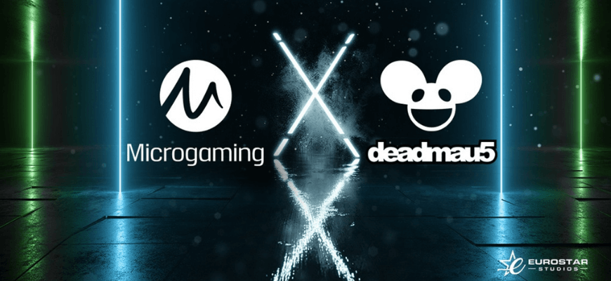 Microgaming release official deadmau5 branded slot - Banner