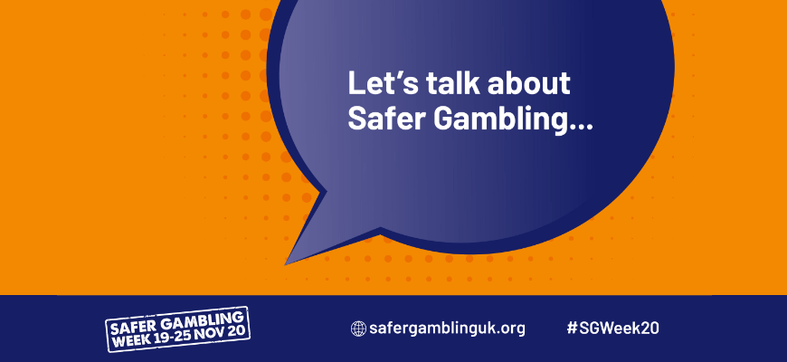 Safer Gambling Week 2020 - Questions you should be asking yourself - Banner