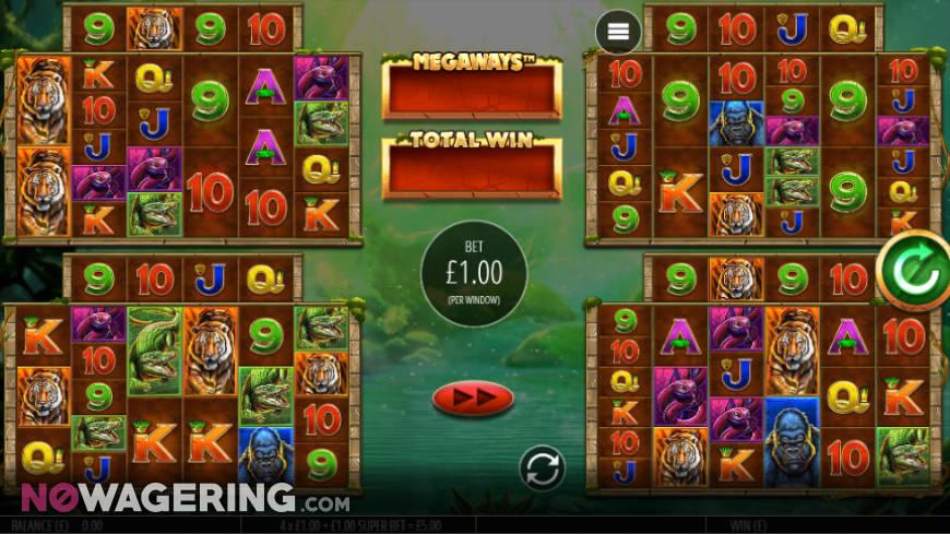 Gorilla Gold Megaways Screenshot 1