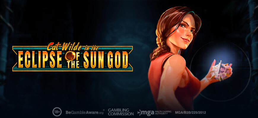 Cat Wilde in the Eclipse of the Sun God - Banner
