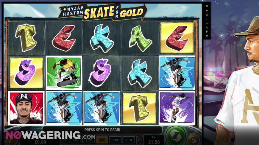 Nyjah-Huston-Skate-for-Gold-Online-Slot-by-Play'n-Go-Screenshot-1