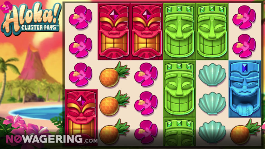 Aloha-Cluster-Pays-Online-Slot-by-NetEnt-Screenshot-1