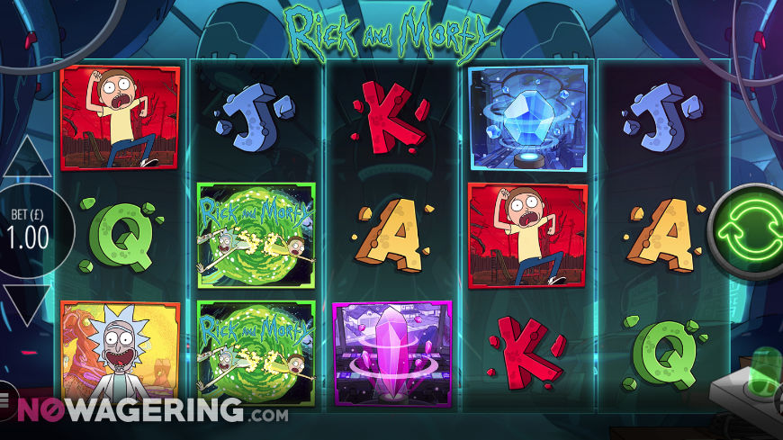 Rick-and-Morty-Wubba-Lubba-Dub-Dub-Online-Slot-by-Blueprint-Gaming-Screenshot-1