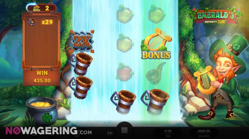 Emerald's Infinity Reels Screenshot 1