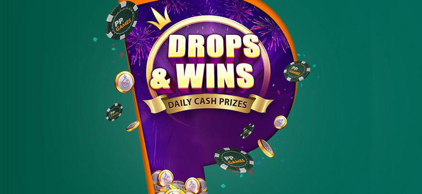 Drops and Wins Cash Prizes Paddy Power Games Hero