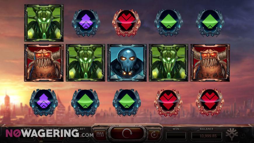 Super Heroes Online Slot By Yggdrasil Screenshot 1