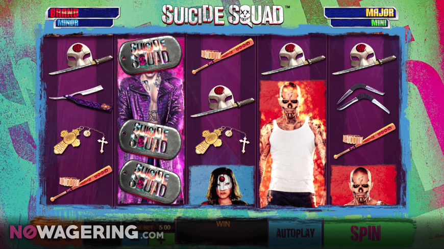 Suicide Squad Online Slot By Playtech Screenshot 1