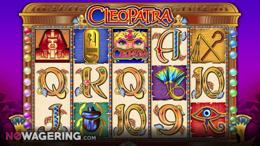 Cleopatra Online Slot By IGT Screenshot 1