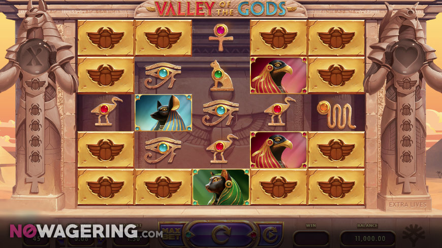 Valley Of The Gods Online Slot By Yggdrasil Screenshot 1