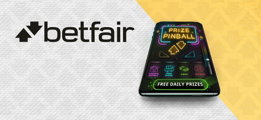 Prize Pinball Betfair Casino Hero