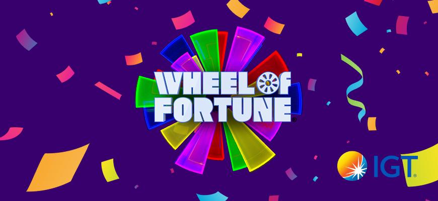 IGT Celebrates 25 Years Wheel Fortune Slots Hero