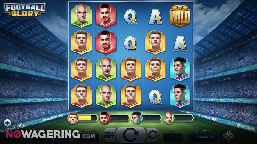 Football Glory Online Slot by Yggdrasil Logo