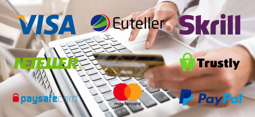 What are the best payment methods when playing at no wagering casinos? - Banner