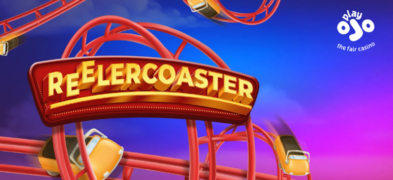 Win a share of £80K with PlayOJO's Reelercoaster Prize Drop - Banner