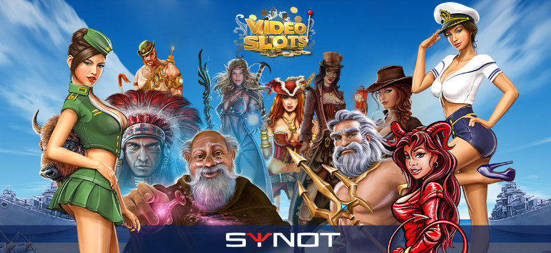Videoslots Collaboration With Synot Games Hero