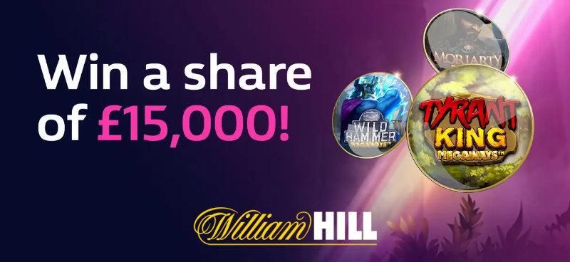 15k Prize Draw William Hill Hero