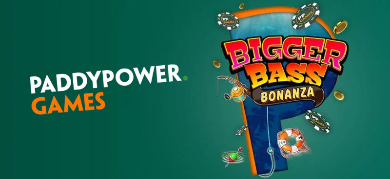 Win a share of £10K in bonuses in Paddy Power's Big Bass Bonanza Giveaway - Banner
