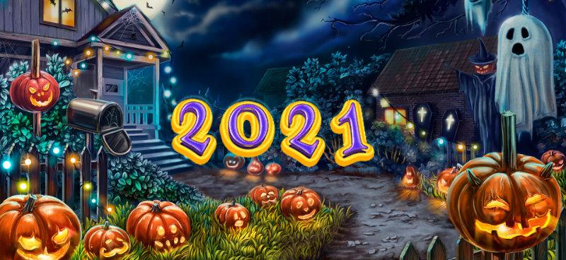 Best Halloween slots for 2021 - Banner