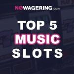 No Wagering's top 5 music Themed slot games Thumbnail